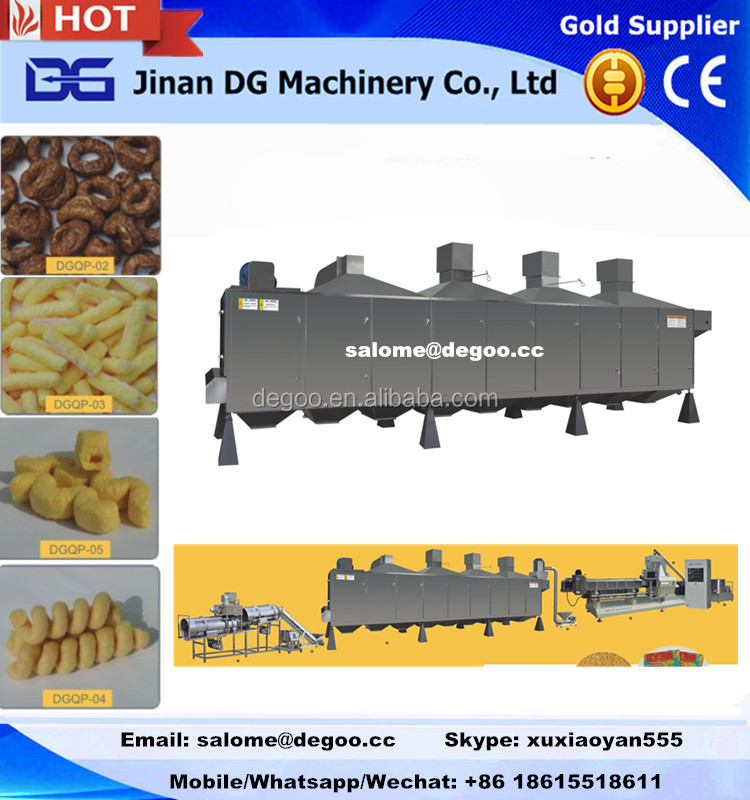 Excellent quality cheese ball snack Food Drying Machinery Dryer