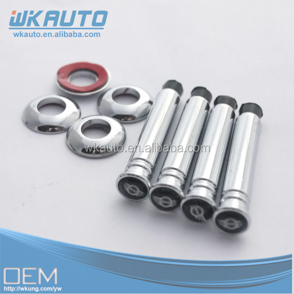 good quality zinc alloy metal mini logo car door lock pin