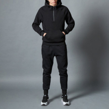 latest design cotton winter custom blank high-quality sweat suit 2 piece sport coat pant track mens suit