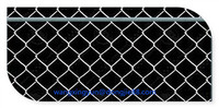 Guaranteed High quality good packaging chain link fence prices/green chain link fence