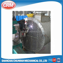 Sanitary stainless steel shell and tube water-cooled condenser