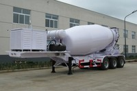 Cement Concrete Mixer Truck Bulker Trailer For Sale