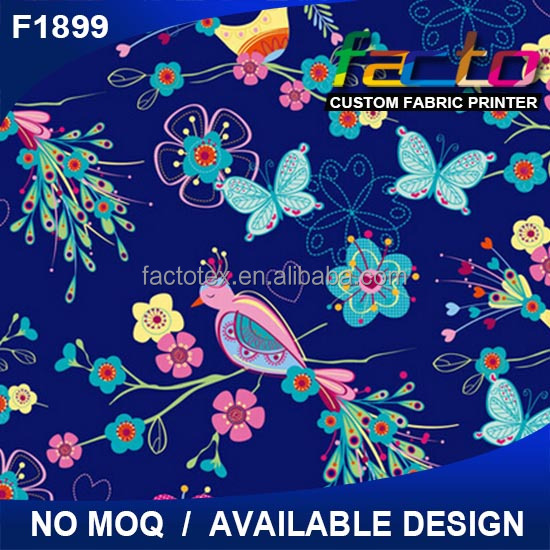 Custom wholesale cotton printed plain cotton canvas fabric for bag wholesale