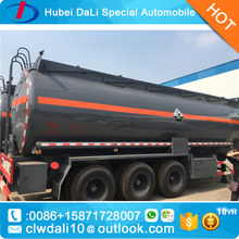 50tons, 3 axles aluminum alloy, asphalt/LNG/LPG tank semi-trailer for sale
