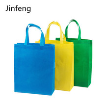 Silk screen printing non-woven fabric bag for promotion