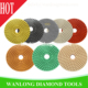 "flexible polishing pads for stone , granite, marble ,floor diameter 100mm/4"" high quality 100% statifactory"