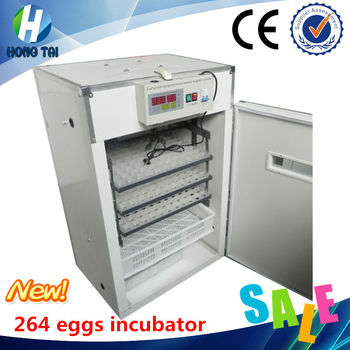CE approved newly design full automation incubator (264 eggs) incubate duck ostrich eggs