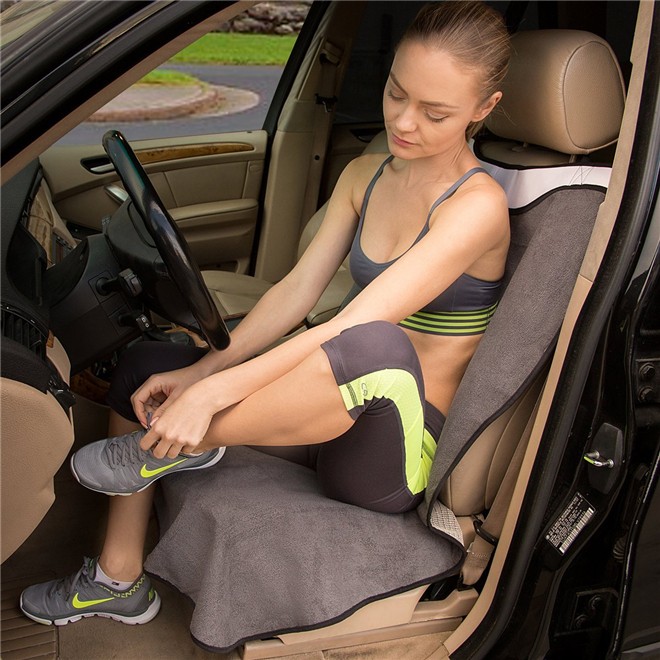 Machine Washable Yoga Sweat Towel Auto Seat Cover/car seat cover