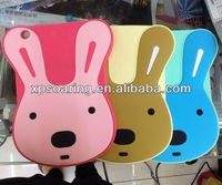 Cute Rabbit silicone case cover for ipad mini