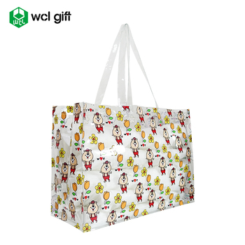 Free Samples Clear PVC Shoulder Shopping Bag Perfect for Sports Games