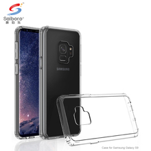 Transparent bumper cell phone case for samsung galaxy s9 for galaxy s9 girls case