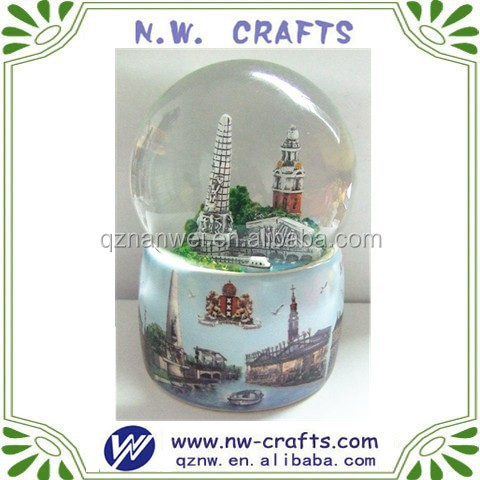 Christmas holiday snow globe promotion gifts
