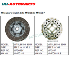 Clutch Plate MFD068Y, Clutch Cover MFC507 for Mitsubishi Truck Tractor Clutch Cover Assembly