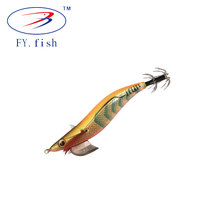 Customized 10g / 15g / 20g fishing squid jig hooks head luminous