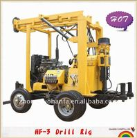 Rock expert ! Most popular in Latin America Market , hydraulic core drilling machine for SPT ( HF-3 )