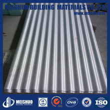 China supplier aluminum alloy decorative corrugated metal patio roof