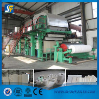 2016 hot selling!Cheap price high performance 787mm tissue paper making equipment