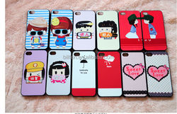 popular colored pattern cheap mobile phone case for iphone4 5s