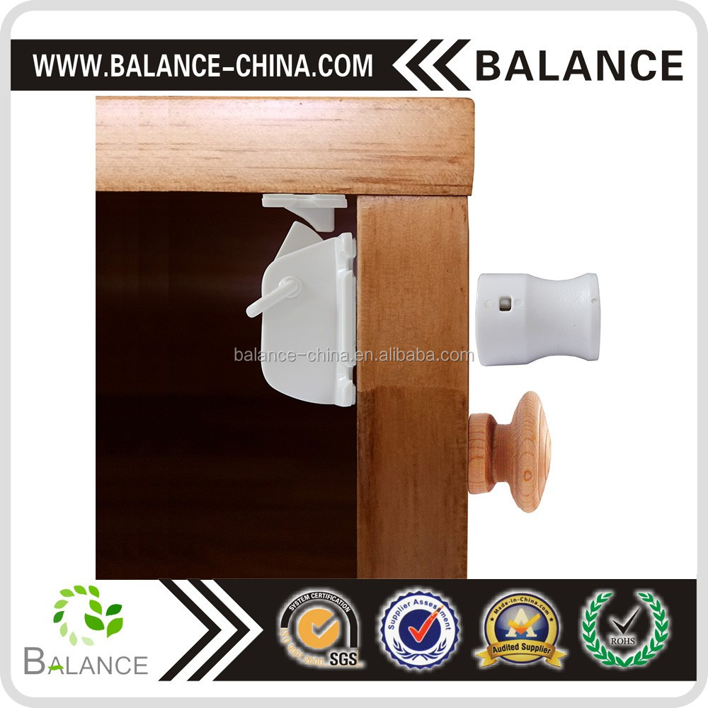 hot sell baby child proofing safety magnetic cupboard locks