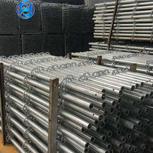 Q195B Hot Dip Galvanizing mobile offshore construction Europ Ringlock Scaffolding