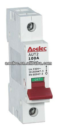 AUT2 with CE mark and CB report 100A main switch circuit breakers