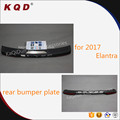 ABS plastic and stainless steel rear bumper guard for elantra 2017 accessories elantra