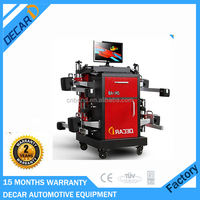 Car workshop used wheel alignment machine with 8 beam CCD