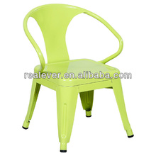 replica children power coated toilx metal armchair
