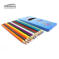 High Quality 12pcs Wooden Color Pencil Set