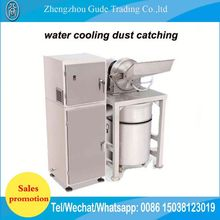 Commercial Dust Collecting Absorption Cassava Tea Leaves Leaf Grinding Machine