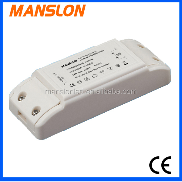 dimmer 24w led power supply switching driver for led
