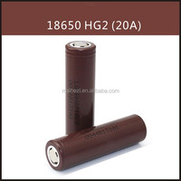 ICR18650HG2 3000mah 3.7v 20a long cycle life 18650hg2 18650 battery