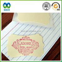 Sticker paper/one side adhesive paper sticker/one side adhesive sticker