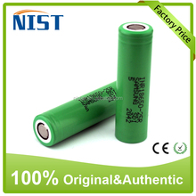 Wholesale top quality 18650 battery samsung 25r 18650 3500mah high drain chargeable battery for e-cig