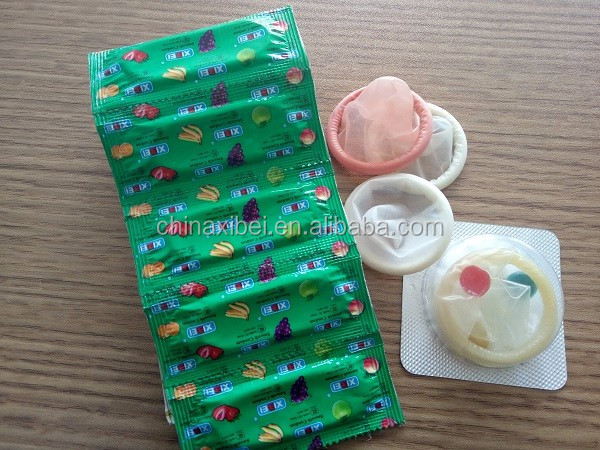 Best Ribbed And Flavored Condom Female Condom Ribbed Condom