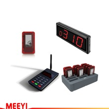 MEEYI Y-P801 WIRELESS paging system digital paging system KEYBOARD for fast food pager