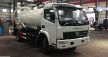 EQ5090T 4x2 Dongfeng sewage suction truck 5000L