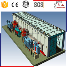 Hot Selling Shot/Abrasive/Sand Blasting Chamber/Room/Booth with Sand Recovery System