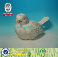 handmade glazed ceramic handicraft bird