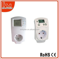 Plug in electric heating digital room thermostat