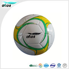 Official weight and size hot selling soccer ball football