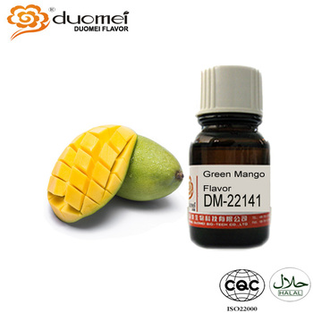 Artificial Fruit Flavor Concentrate Liquid Flavor Green Mango Flavor