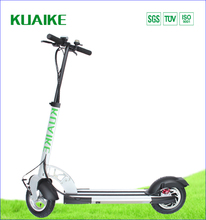 Long Range 70 km Folding 36v 250w Motor Electric Adult scooters with T-bar