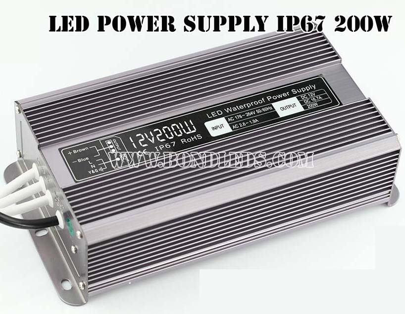 12V 24V 36V 30W 60W 70W 100W 120W 150W 200W 250W 300W waterproof LED strip power supply