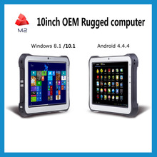 Military Rugged Tablet 10inch Mobile PC computer Terminal Pos Screen Docking Tablet 2d Barcode scanner Industrial