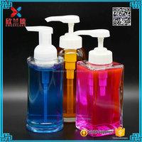 round shape big size 15oz liquid soap dispenser pump bottle
