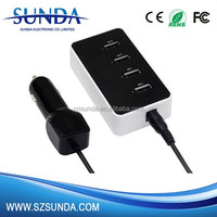 Hot trend products 5 port car charger car accessories made-in China factory