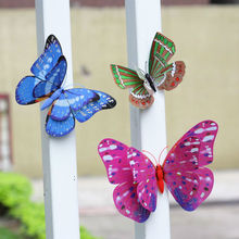 Wholesale colorful butterfly decoration