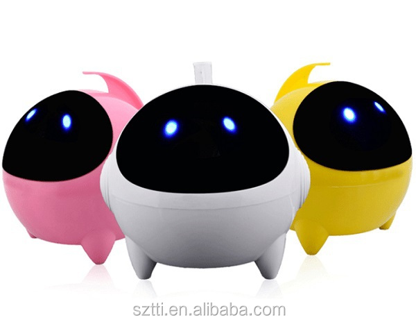 Hot Luminous desktop notebook USB computer speakers 2.0 astronauts mini live sound subwoofer sound