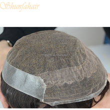 Sell china wigs human hair toupee for men mens hair patch